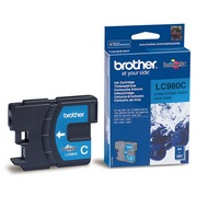 Brother LC980C Cartus Albastru