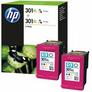 HP 301XL (D8J46AE) Pachet 2 Cartuse Color