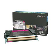 Lexmark C734A1MG Cartus Toner Return Magenta