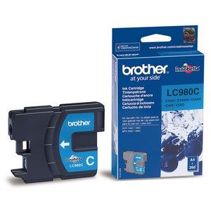 Brother LC980C Cartus Albastru