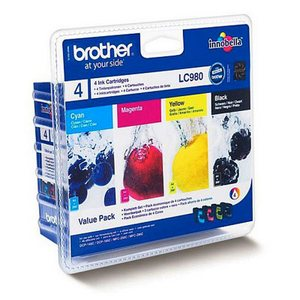 Brother LC980VALBP Pachet Cartuse Negru si Color