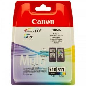Canon PG-510 + CL-511 Pachet Cartuse Negru si Color