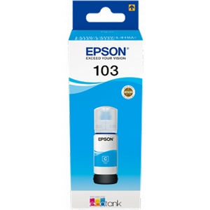 Epson 103 (C13T00S24A) Rezerva Cerneala Albastra