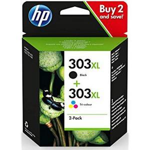 HP 303XL + HP 303XL (3YN10AE) Pachet Cartuse Negru si Color