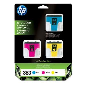 HP 363 (CB333EE) Pachet 3 Cartuse Color CMY