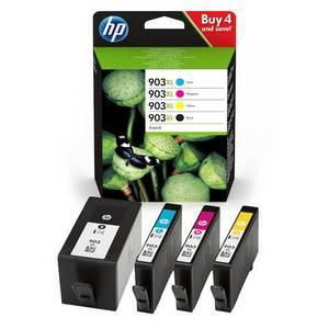HP 903XL (3HZ51AE) Pachet Cartuse Negru si Color CMY
