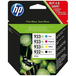 HP 932XL BK + HP 933XL CMY (C2P42AE) Pachet Cartuse Negru si Color