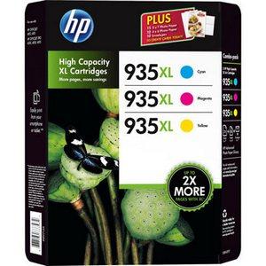 HP 935XL (F6U78AE) Pachet 3 Cartuse Color CMY