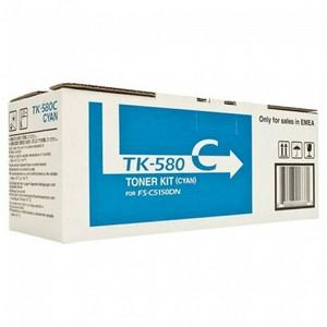 Kyocera Mita TK-580C Cartus Toner Albastru