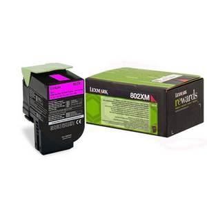 Lexmark 802XM (80C2XM0) Cartus Toner Return Magenta