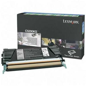 Lexmark C5200KS Cartus Toner Return Negru