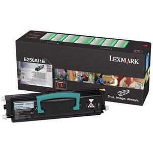 Lexmark E250A11E Cartus Return Toner Negru