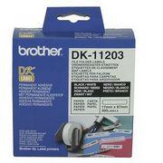 Brother DK11203 Rola Etichete Hartie pentru Dosare Negru pe Alb