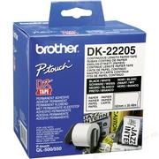 Brother DK22205 Banda Continua Hartie Alba