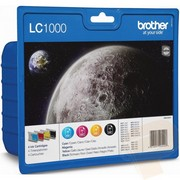 Brother LC1000VALBP Pachet Cartuse Negru si Color