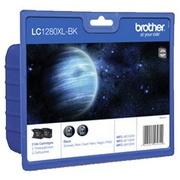 Brother LC1280XLBKBP2 Pachet 2 Cartuse Negre