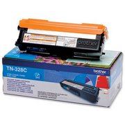 Brother TN328C Cartus Toner Albastru