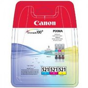 Canon CLI-521 Pachet Cartuse CMY