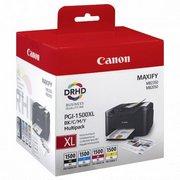 Canon PGI-1500XLBK/C/M/Y Pachet Cartuse Negru si Color