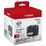 Canon PGI-2500XLBK/C/M/Y Pachet Cartuse Negru si Color