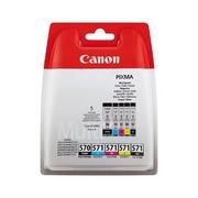 Canon PGI-570C/M/Y/PGBK/BK Pachet 2 Cartuse Negre si 3 Color CMY