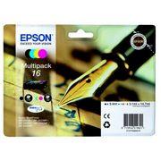 Epson 16 (C13T16264012) Pachet Cartuse Negru si Color