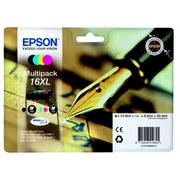 Epson 16XL (C13T16364012) Pachet Cartuse Negru si Color