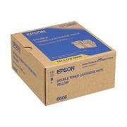 Epson C13S050606 Pachet 2 Cartuse Toner Galbene