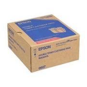 Epson C13S050607 Pachet 2 Cartuse Toner Magenta