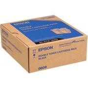 Epson C13S050609 Pachet 2 Cartuse Toner Negre