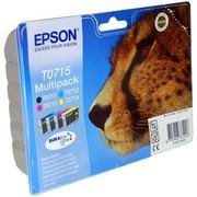 Epson T0715 (C13T07154012) Pachet Cartuse Negru si Color