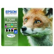 Epson T1285 (C13T12854010) Pachet Cartuse Negru si Color