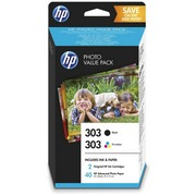 HP 303 + HP 303 (Z4B62EE) Pachet Cartuse Negru si Color