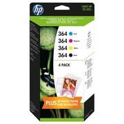 HP 364 (N9J73AE) Pachet Cartuse Negru si Color