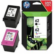 HP 62 (N9J71AE) Pachet Cartuse Negru si Color