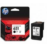 HP 651 (C2P10AE) Cartus Negru