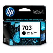 HP 703 (CD887AE) Cartus Negru