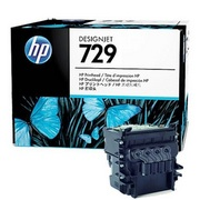 HP 729 (F9J81A) Cap Imprimare Negru Mat si Color CMY