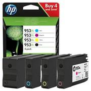 HP 953XL (3HZ52AE) Pachet Cartuse Negru si Color CMY