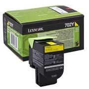 Lexmark 702Y (70C20Y0) Cartus Toner Return Galben