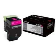 Lexmark 800H3 (80C0H30) Cartus Toner Magenta