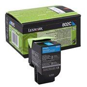 Lexmark 802C (80C20C0) Cartus Toner Return Albastru