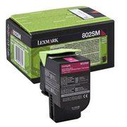 Lexmark 802SM (80C2SM0) Cartus Toner Return Magenta