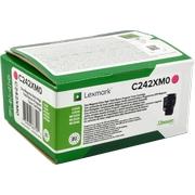 Lexmark C242XM0 Cartus Toner Return Magenta