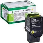 Lexmark C242XY0 Cartus Toner Return Galben