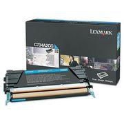 Lexmark C734A2CG Cartus Toner Albastru