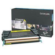Lexmark C734A2YG Cartus Toner Galben