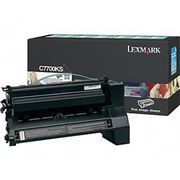 Lexmark C7700KS Cartus Toner Return Negru