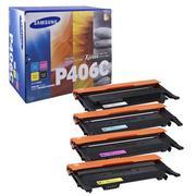 Samsung CLT-P406C / SU375A Pachet 4 Cartuse Toner Negru si Color CMY